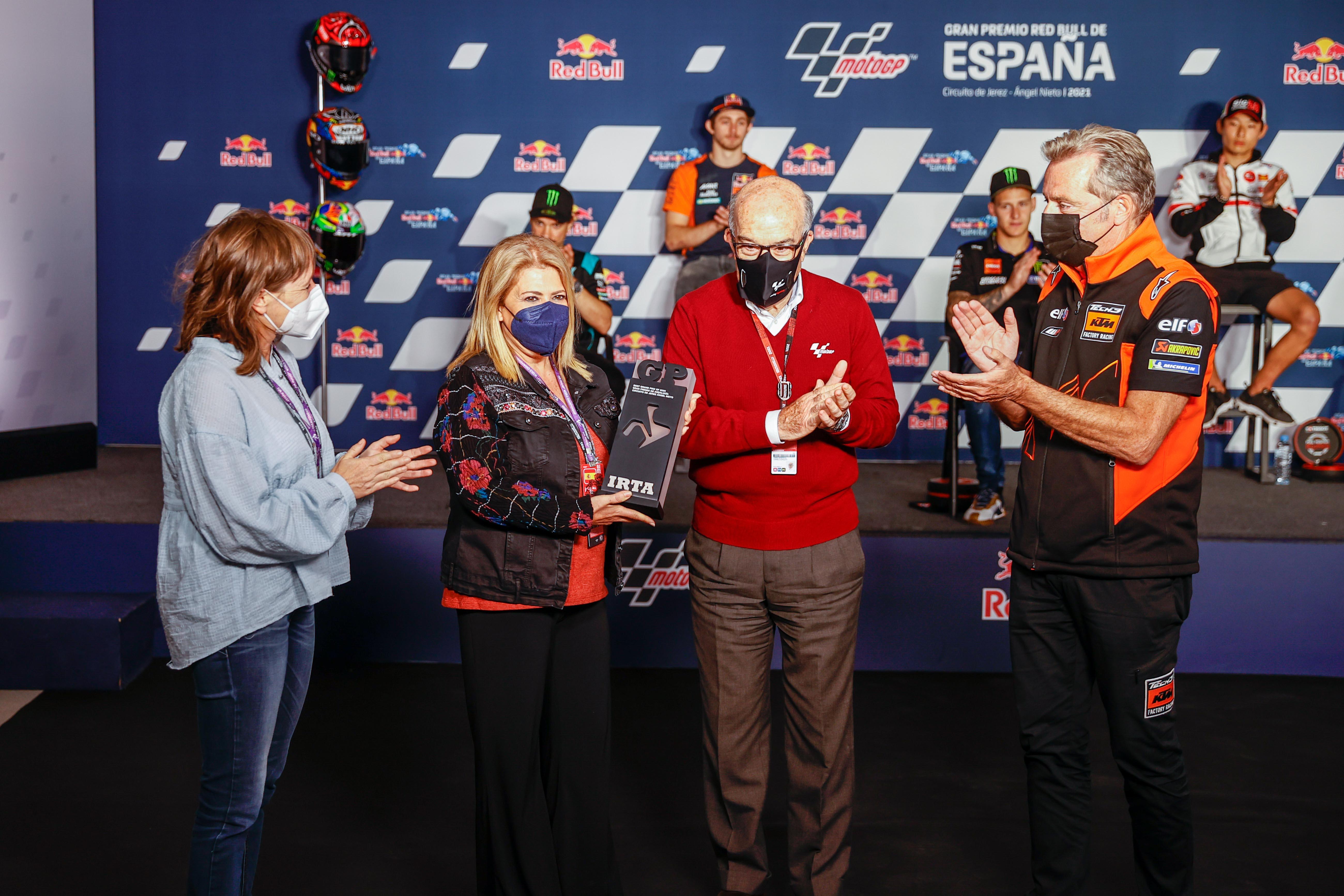 El Circuito de Jerez recibe el premio como mejor trazado de la temporada 2020