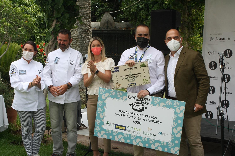 Carmen Tamayo y Paco Medina, ganadores en la cuarta edición del Chef Sierra de Cádiz