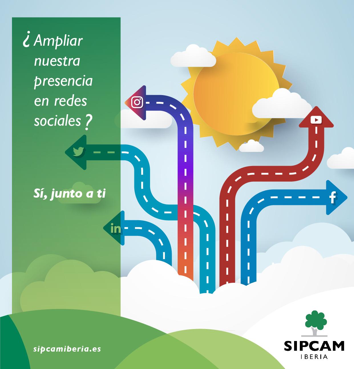 SIPCAM Iberia amplía su presencia digital en España