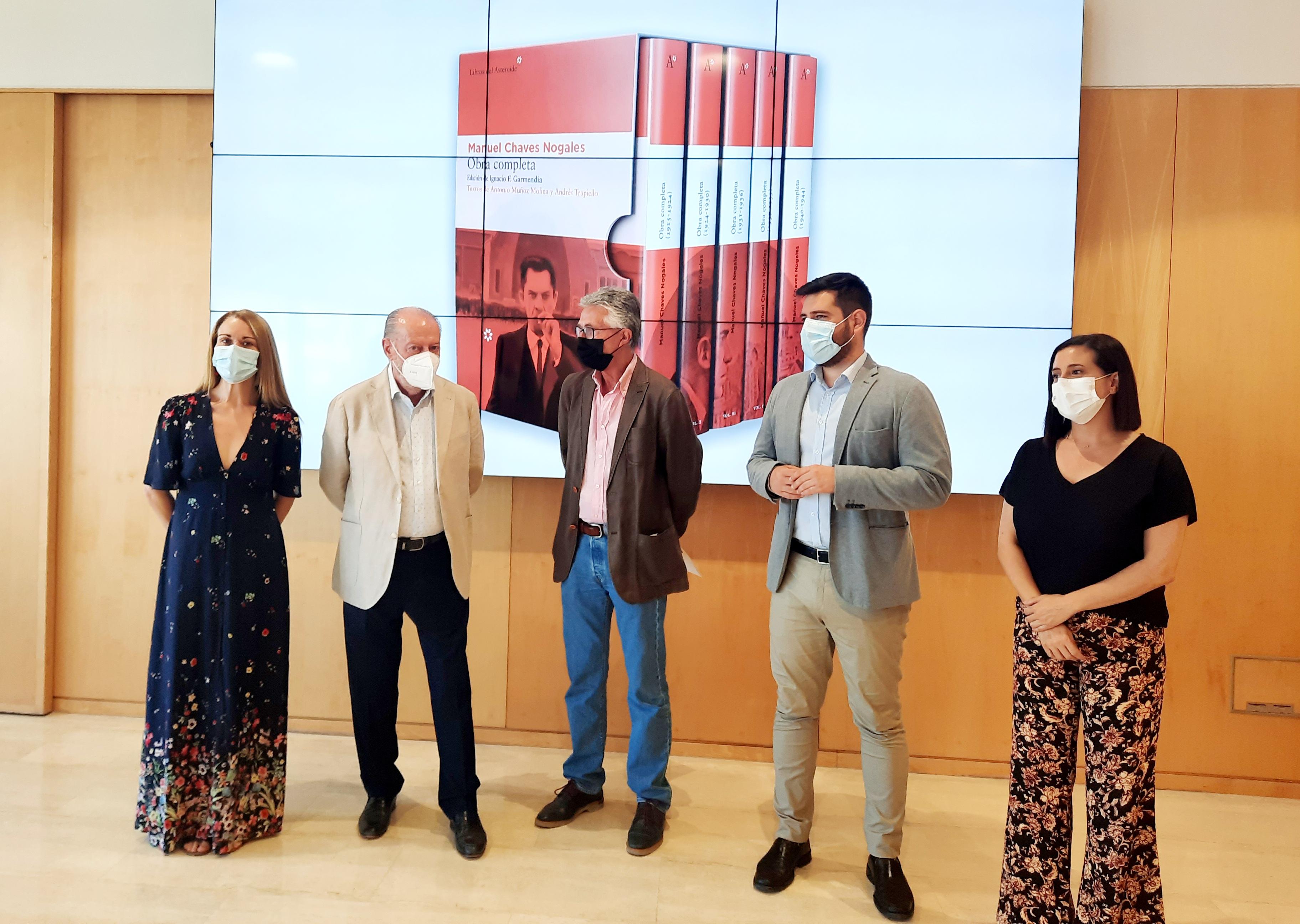 La Diputación y la APS crean el Premio de Periodismo 'Manuel Chaves Nogales'