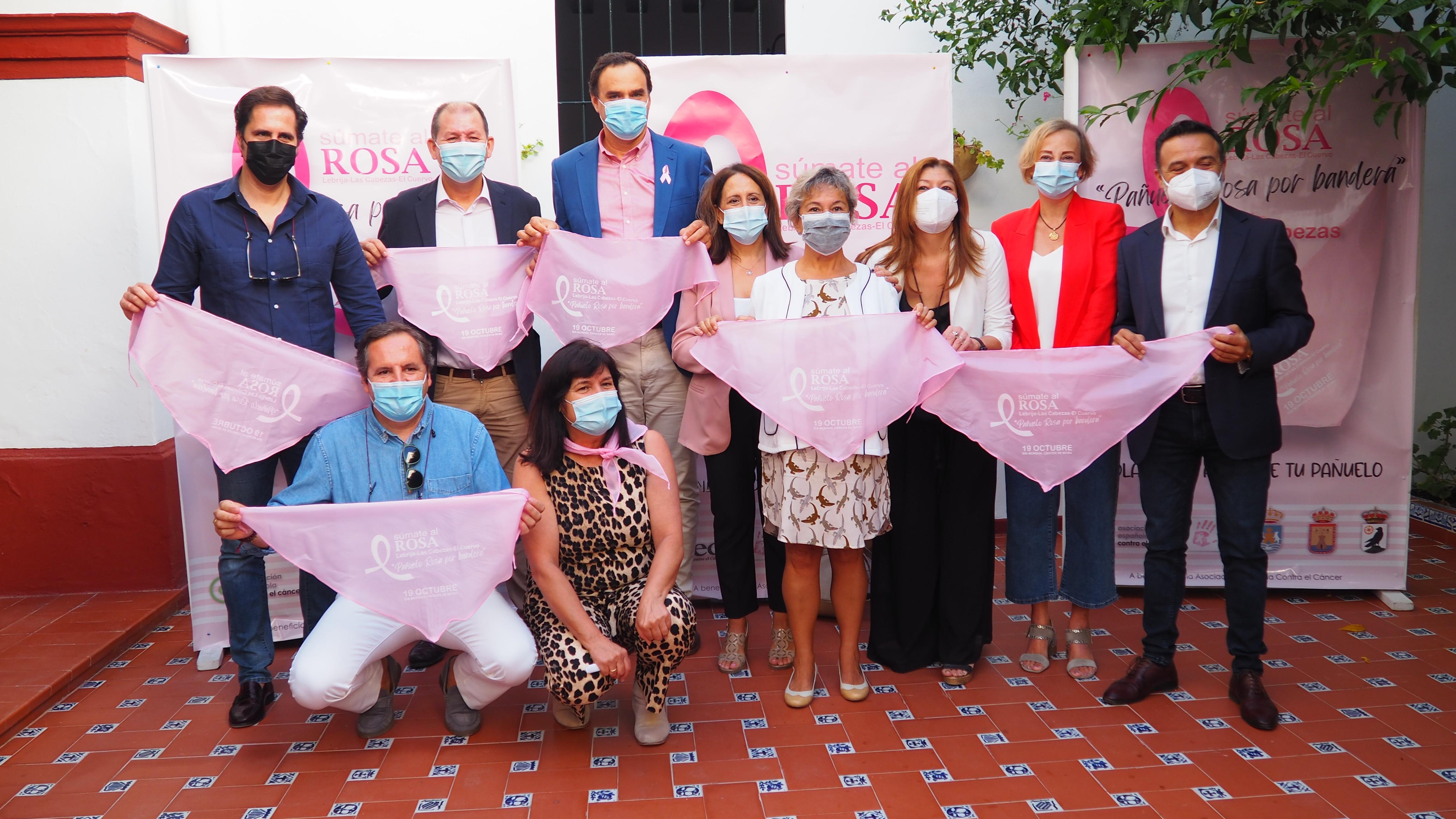 """""""Pañuelo Rosa por bandera"""", lema de la nueva campaña por el Día Internacional del Cáncer de mama"""